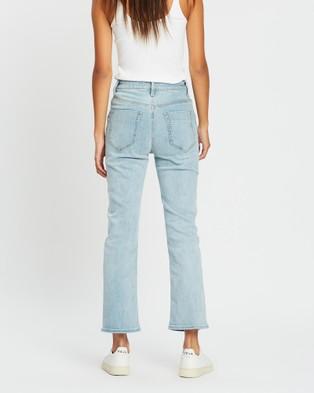 DRICOPER DENIM Freebie Flare Jeans - Crop (Sun Bleached)