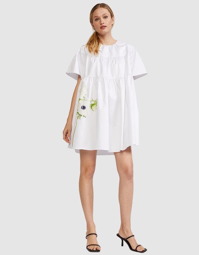 Women Postcard Poppy Dress