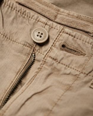 Superdry Parachute Cargo Shorts - Shorts (Sand Ripstop)