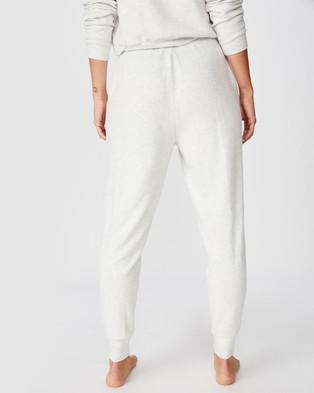 Cotton On Body Super Soft Slim Fit Pants - Sleepwear (Soft Grey Marle)
