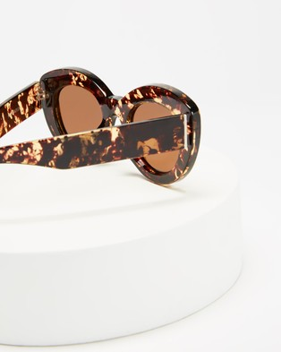 Reality Eyewear Marmont - Accessories (Honey Turtle)