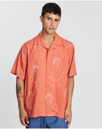Band of Outsiders - Summer Shirt with Patch Pocket