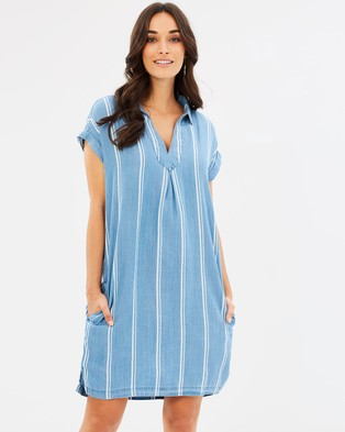 Wite – Vineyard Stripe Tunic – Tops Vineyard Stripe