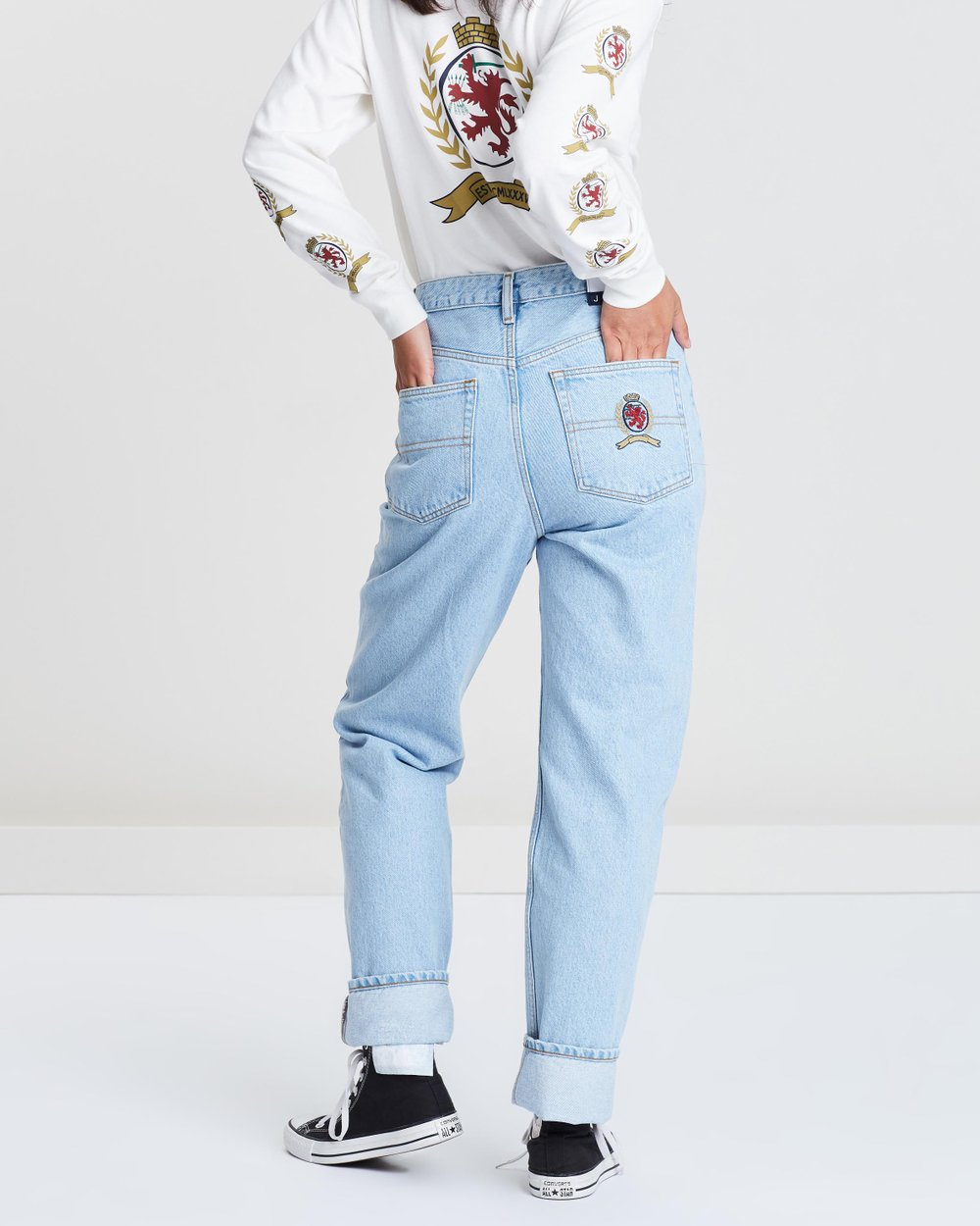 c670b7eaa Crest Mom Jeans by Tommy Jeans Online | THE ICONIC | Australia