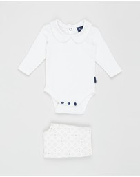 Pappe - 2-Piece Bowhill Bodysuit & Footed Leggings - Babies