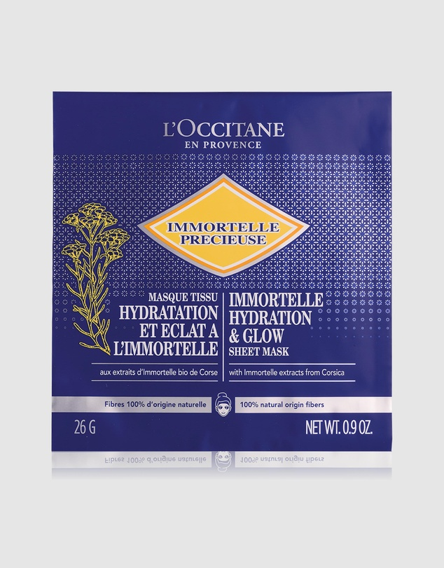 Life Immortelle Hydration Glow Sheet Mask 4 Pieces