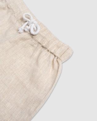 Amber Days Wirirri  Linen Lounge Shorts - Shorts (nude)