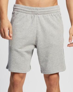 adidas Originals Trefoil Essentials Shorts - Shorts (Medium Grey Heather)