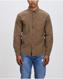 Thrills - Stranded Cord Long Sleeve Shirt