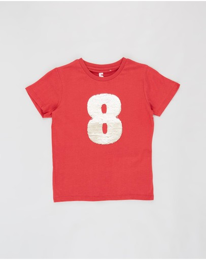 Cotton On Kids - Stevie SS Embellished Tee - Kids-Teens