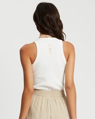 ST MRLO Sanibel Tank - T-Shirts & Singlets (White)