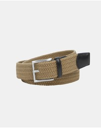 Crew 35mm Plaited Belt