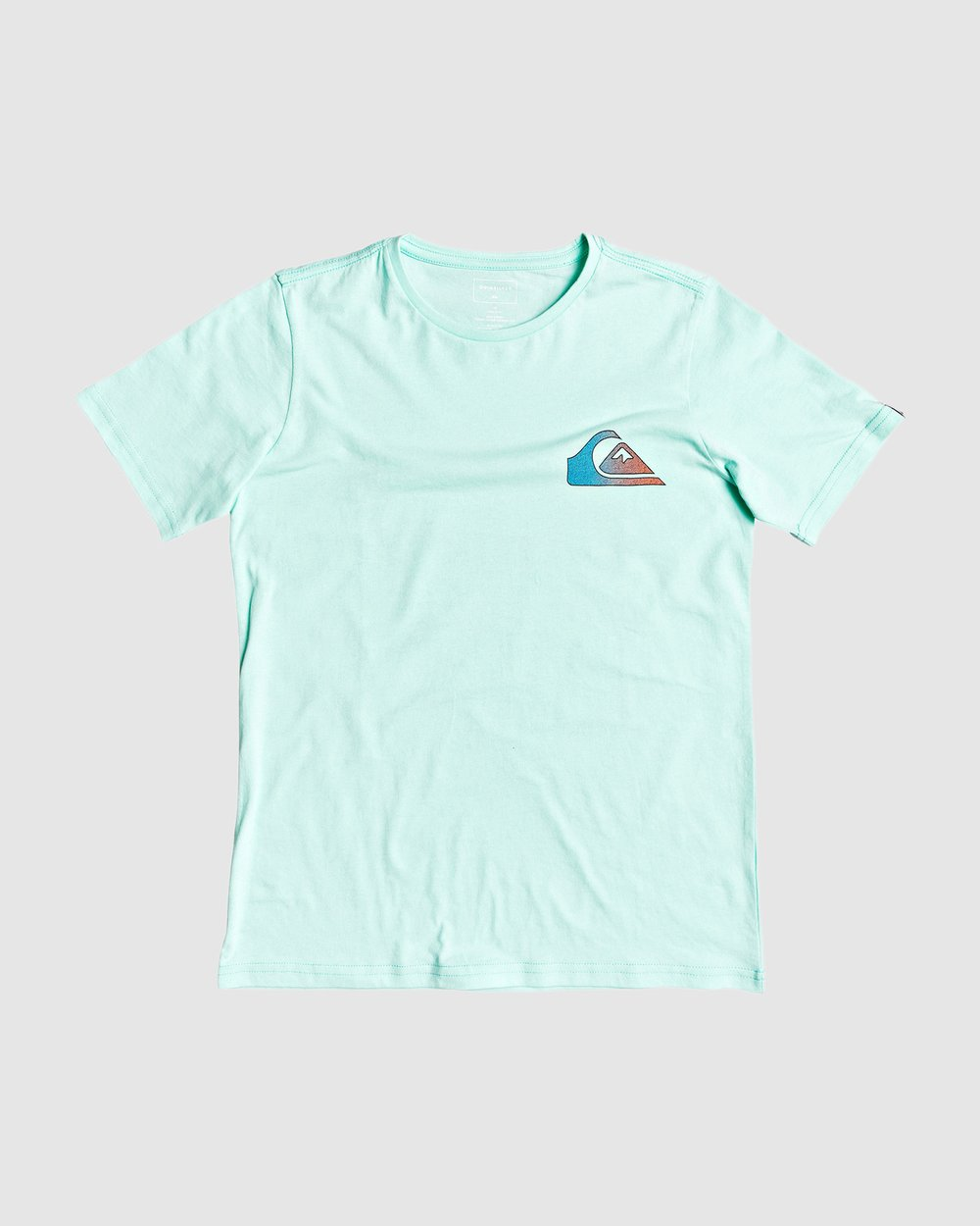 BLUEISH GREY- SIZE 8,12,14 /& 16 YEARS NEW Quiksilver Boys Printed T Shirt