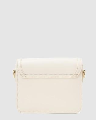 Nakedvice The India Sidebag Handbags Ivory