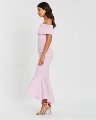 Loreta Rosewood Dress - Bridesmaid Dresses (Purple)