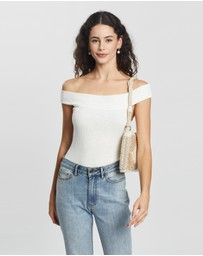 Atmos&Here - Aubry Off Shoulder Bodysuit