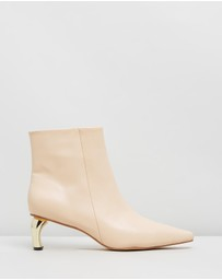 Atmos&Here - Gemma Leather Ankle Boots