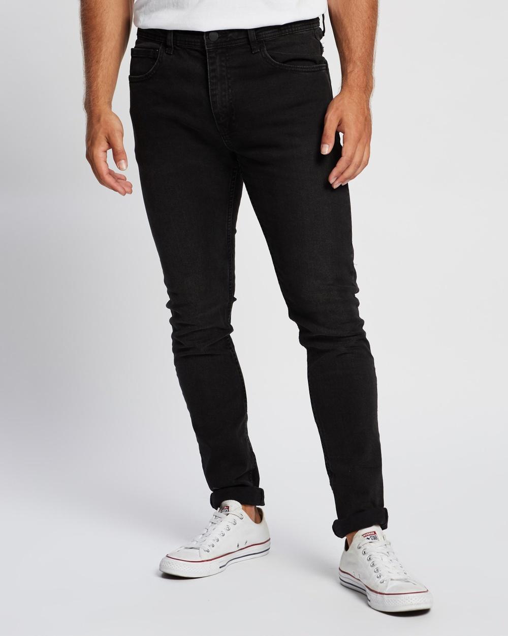 Cotton On Super Skinny Jeans Raven Black Australia
