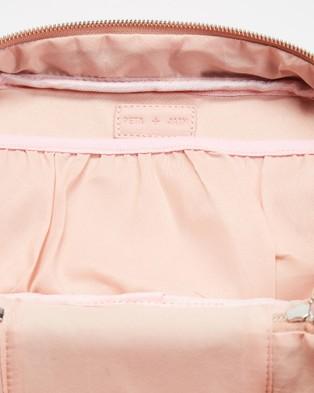 PETA AND JAIN Lola Beauty Train Case - Bags & Tools (Baby Pink Nylon)