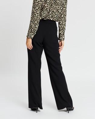 Banana Republic Petite High Rise Flare Pants - Pants (Black)