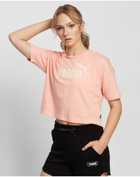 Puma - Essential Cropped Logo T-Shirt