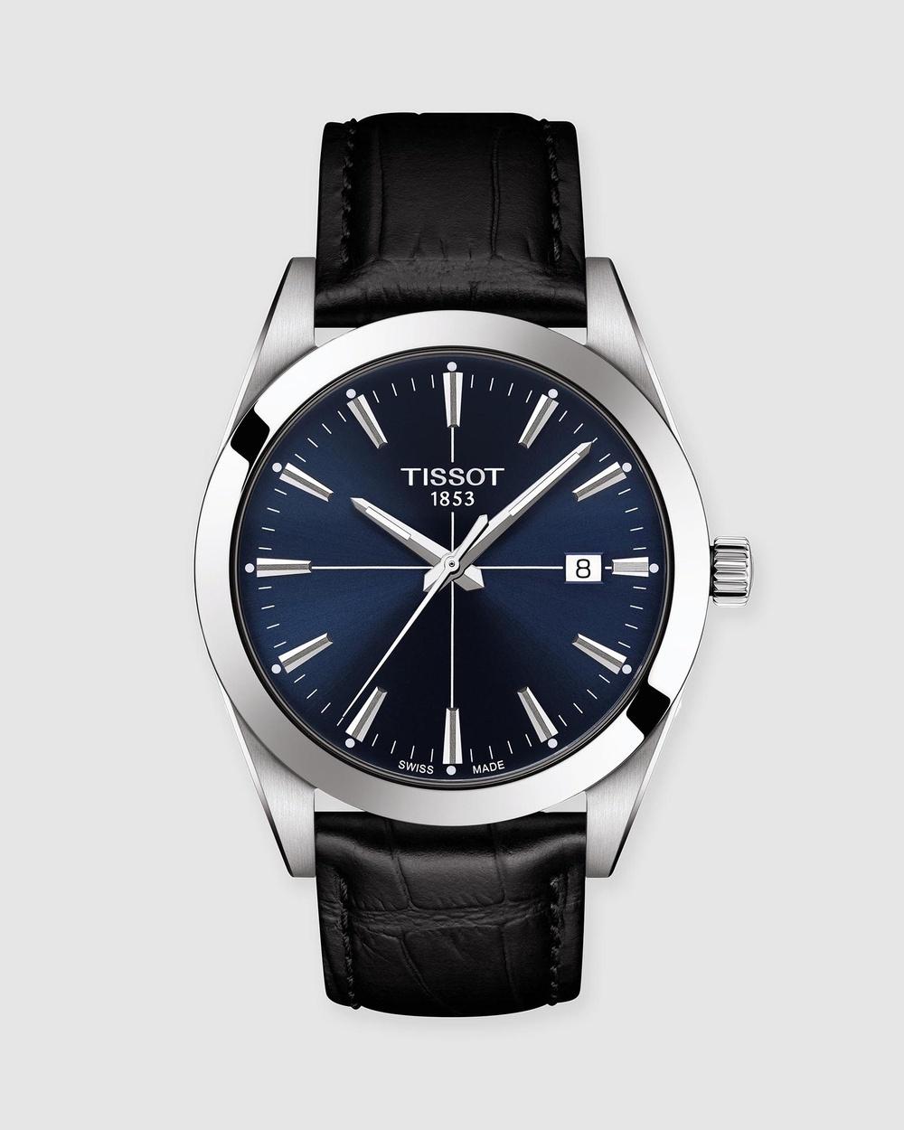 Tissot Gentleman Watches Blue & Black