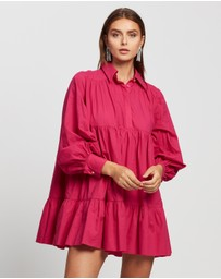 Mossman - Electric Paradise Long Sleeve Dress