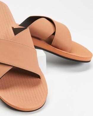Indosole ESSENTLS Cross   Women's - Sandals (Rust)