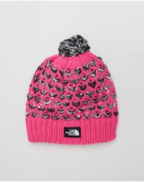 The North Face - Chunky Pom Beanie - Kids