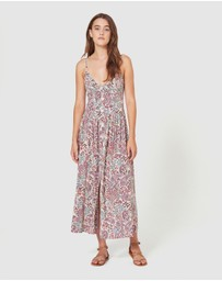 Auguste The Label - Paisley Staple Midi Dress