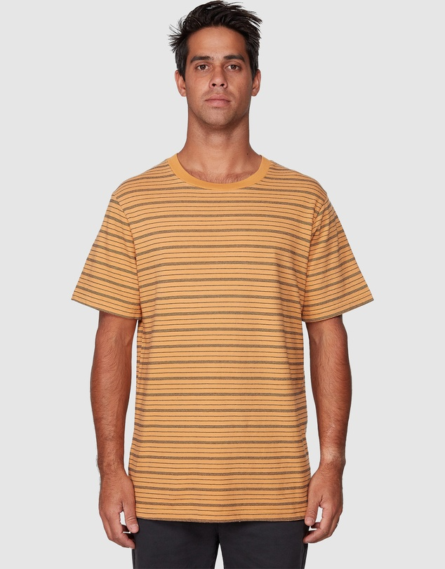 RVCA - Rain Stripe Short Sleeve Tee
