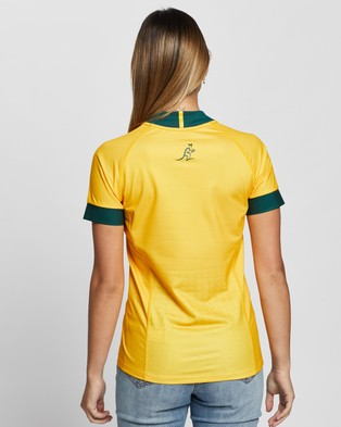 ASICS Replica Home Jersey - Rugby Union (Wallabies Gold)