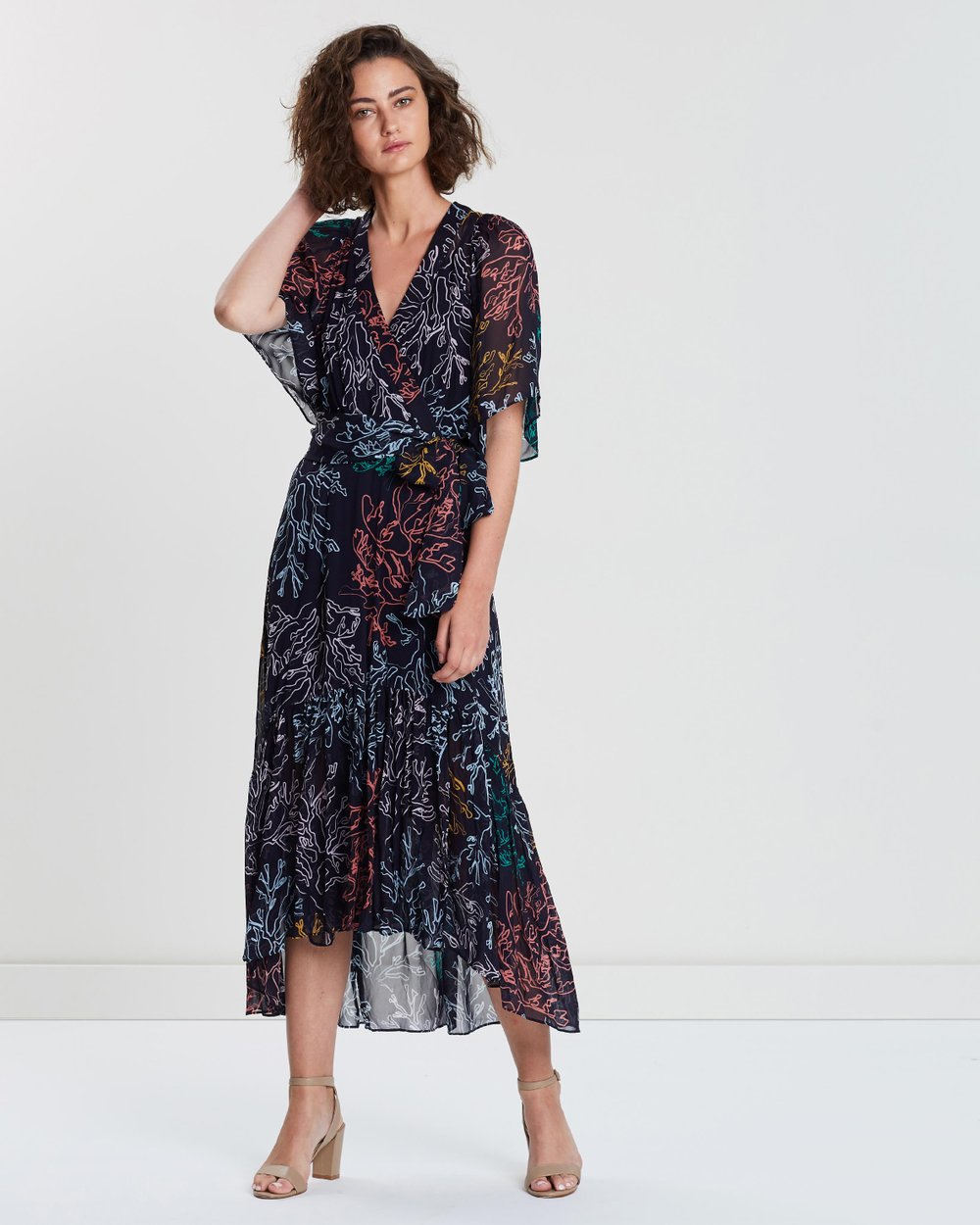 5a307c486e8 Illustrate Wrap Dress by Ginger   Smart Online