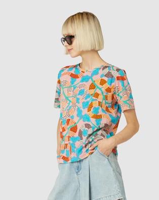 Gorman Serpentine Tee - T-Shirts & Singlets (Multi)