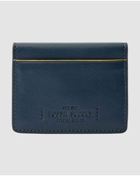 Fossil - Gregg Navy Blue Card Case