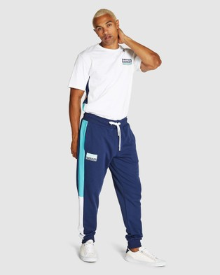 Superdry Sport Streetsport Joggers - Sweatpants (Beechwater Blue)
