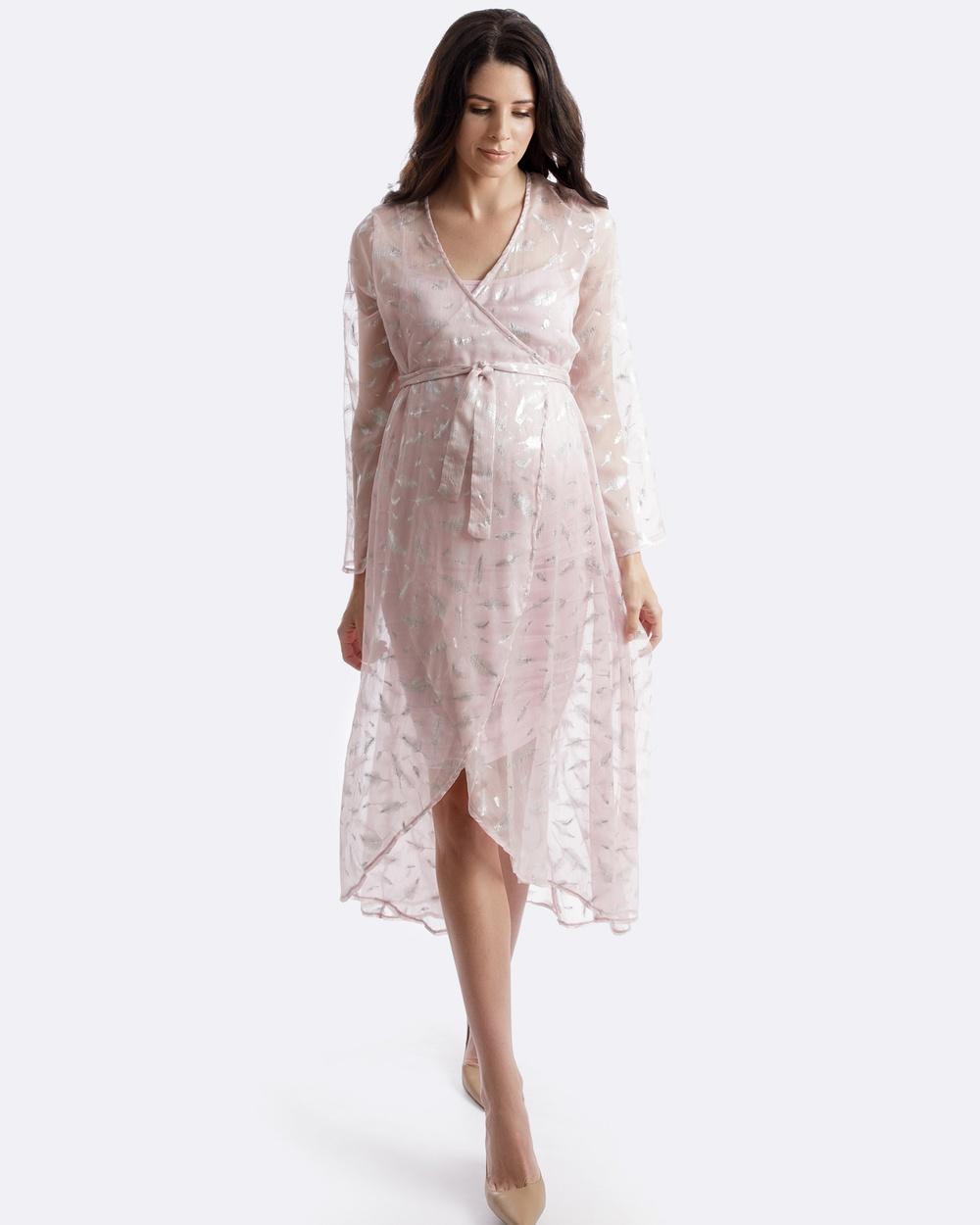 Maive & Bo Pink Forever Kimono