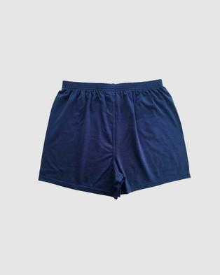 Coast Clothing 3 Pack Boxer Shorts - Underwear & Socks (Navy)