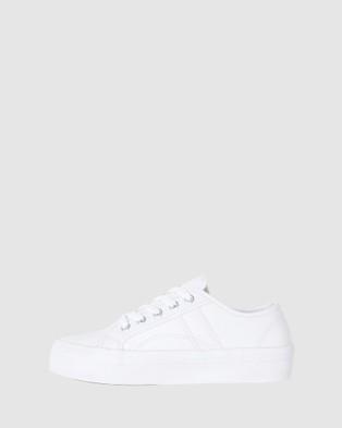 Sandler Slater - Slip-On Sneakers (WHITE)