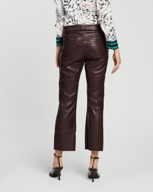 Grace Willow Cameron Pants - Pants (Merlot)