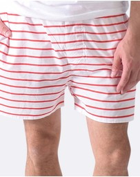Sant And Abel - Fire Truck Men's Boxer Shorts