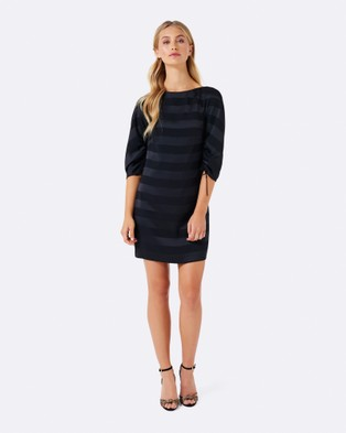 Forever New – Coco Cocoon Sleeve Dress – Dresses (Black)