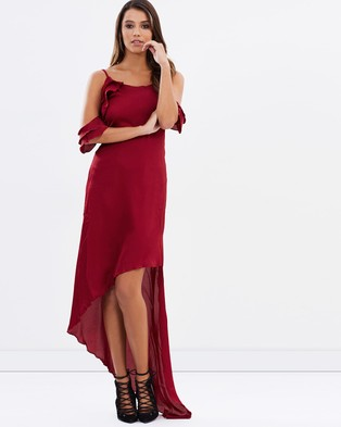 Lioness – Hot Child in the City Dress Wine