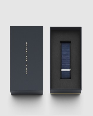 Daniel Wellington Nato Strap Bayswater 20mm Watch Band   For Classic 40mm - Watches (Silver)