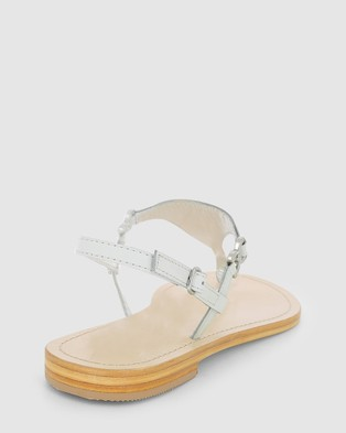 marcus b Ally Sandals - Flats (WHITE)