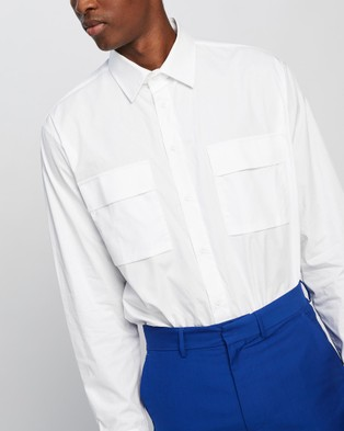 Justin Cassin Ander Shirt - Casual shirts (White)