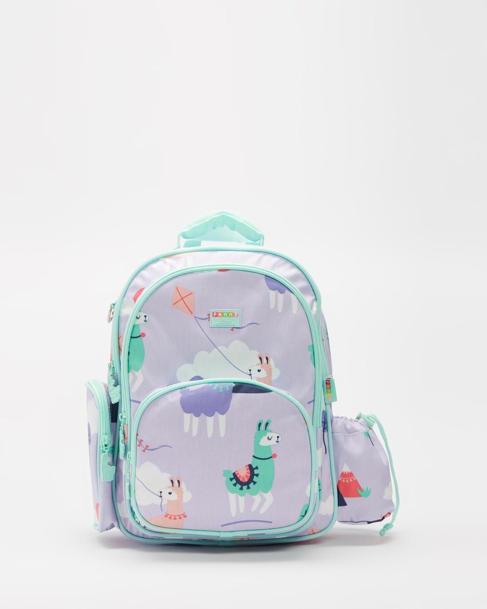 Penny Scallan Large Backpack Backpacks Loopy Llama