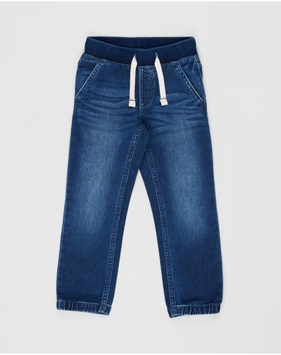 babyGap - Pull-On Denim Joggers - Babies-Kids