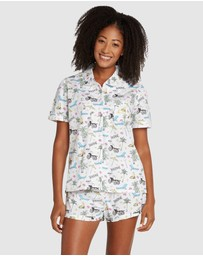 Sant And Abel - Palm Springs Short Sleeve Boxer Set