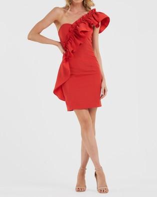 Amelius Radar Dress - Dresses (Red)